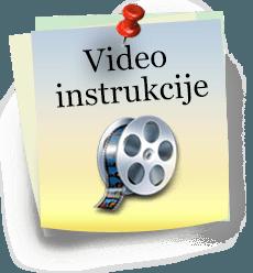 Video instrukcije Sjedi5